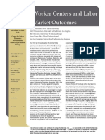 Worker Center and Labor Market Outcomes