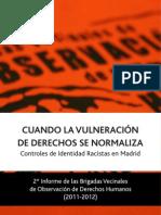 Informe Brigadas Vecinales 2011-2012