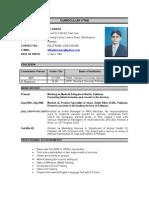 Ali Haider CV