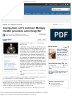 Theater Review, Young Jean Lee