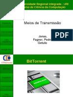 Arquitetura hibrida BitTorrent