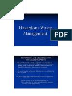 0905473 Hazardous Waste Management CCC