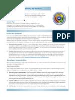MOF Action Plan - Redistributing the Workload