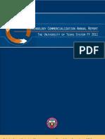 University of Texas System - Technology Commercialization - 2011