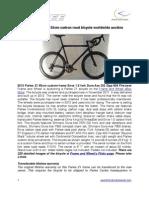 2012 Parlee Z1 55cm custom frame Enve 1.0 fork Dura-Ace Di2 Zipp 404 Firecrest