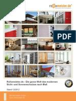 Rollomeister Gesamtkatalog Stand 20121211 Web