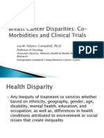 Breast Cancer Disparities