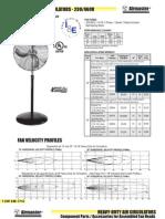 Heavy Duty Non-Oscillating 230-460v