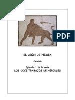 01-EL LEÓN DE NEMEA (CATALUÑA)-GUÍA DIDÁCTICA