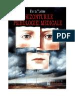 FLORIN TUDOSE - Orizonturile Psihologiei Medicale