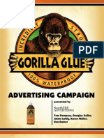 Gorilla Glue Advertising Plan
