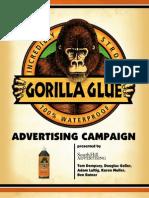 Gorilla Glue Advertising Plan