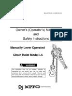 L5LB Operation and Parts