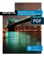 Start-up City Report