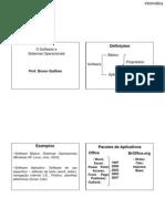 Sistemas Operacionais e Software Livre