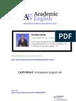 Harvard Lectures - Globalisation