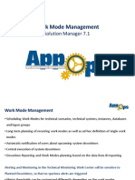 Work Mode Management