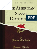 The American Slang Dictionary