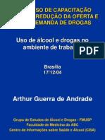 Curso SENAD - Alcool e Drogas No Trabalho