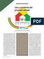 Luces y Sombras Del Proceso Censal 2012