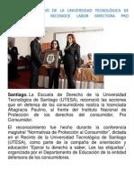 ESCUELA DE DERECHO DE LA UNIVERSIDAD TECNOLÓGICA DE SANTIAGO Copy