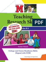 IIM Teaching Research Skills in Grades K-5 CCSS Edition Sample