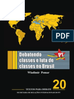 Caderno SRI - Debatendo Classes e Luta de Classes No Brasil