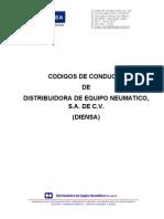 Codigos de Conducta Diensa 2011