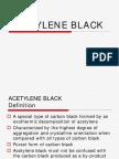 Acetylene Black Overview