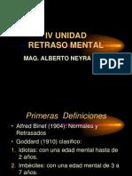 IV Unidad Retraso Mental
