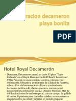 Analisis Hotel Decameron y Playa Bonita Panama