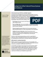 the Growth and Increasing Cost of the Federal Prison System 412693