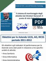 03 - Claudio Dario - Il sistema di monitoraggio degli obiettivi dei Direttori Generali