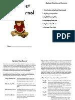 Childrens Quiet Time Journal