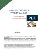 Espacio Personal y Territorialidad