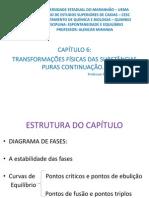 CAPÍTULO 6 Transformações Físicas das Substânicas Puras Continuação....ppt