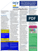 Pharmacy Daily for Wed 12 Dec 2012 - Eating disorders, Zytiga expansion, Vaccine tender, Health