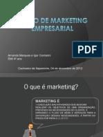 Plano de Marketing Empresarial