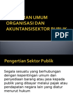 gambaran umum akuntansi sektor publik