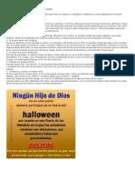Siete Razones Para No Celebrar El Halloween