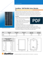 SunWize 75A/80A Solar Panels