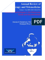 Annual Review of CyberTherapy and Telemedicine, Volume 1, Summer 2003