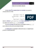 Sistema de Ecuaciones Lineales Metodos Numericos