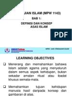 Mpw 1143 Pengajian Islam