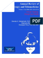 Annual Review of CyberTherapy and Telemedicine, Volume 4, Summer 2006
