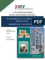 Proyecto Planeamiento de Multifamiliar Las Azucenas