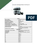Ficha técnica  Volkswagen Worker 19-370 Euro III