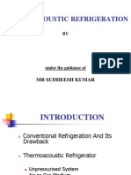THERMOACOUSTIC REFRIGERATION.ppt