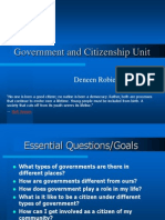 Government and Citizenship Unit