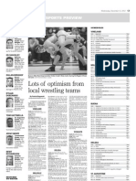 Wrestling Preview